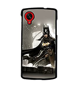 PRINTSWAG FIGHTER WOMAN Designer Back Cover Case for LG GOOGLE NEXUS 5