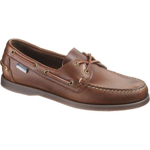 Sebago Men'S Docksides Boat Shoe,Brown,10.5 W Us front-434737