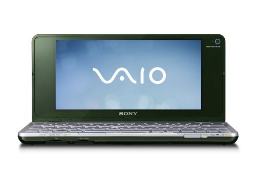 Sony Vaio P11ZG 8-inch Laptop, Intel Atom Z520 1.33Ghz, 2GB RAM, 60GB HDD, Vista Home Premium (Green)