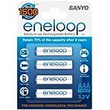 Sanyo - HR-4UTG-8BP - 8 Batteries Eneloop Type AAA (800 mAh)