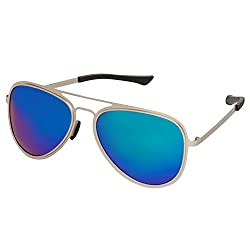 Cristiano Ronnie HD Polarised Lens Aviator Sunglasses