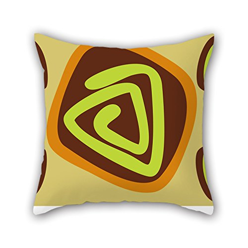 NICEPLW Geometry Throw Pillow Case ,best For Husband,gf,home,gril Friend,office,dining Room 18 X 18 Inches / 45 By 45 Cm(both Sides) (Buck Stove Gasket compare prices)