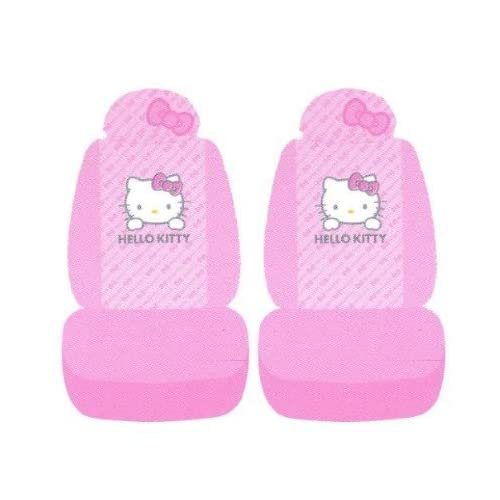 REALLY Sanrio Hello Kitty Car Front Seat Cover 2PC