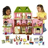 Fisher Price Loving FamilyTM Grand Dollhouse Super Set (Caucasian Family)