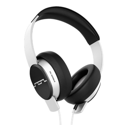 Sol Republic 1601-32 Master Tracks Over-Ear Headphones - White