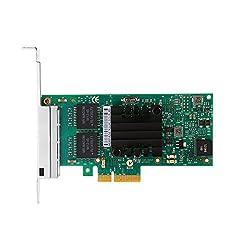 Yosoo Intel I350-T4 PCI-Express PCI-E Four RJ45 Gigabit Ports Server Adapter NIC