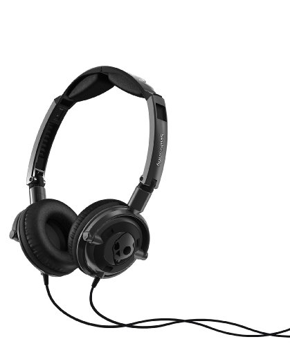 Skullcandy Lowrider Headphones (Metal/Black)