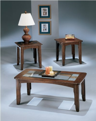 Buy ashley solana 3 piece coffee table set ashley for Buy white coffee table