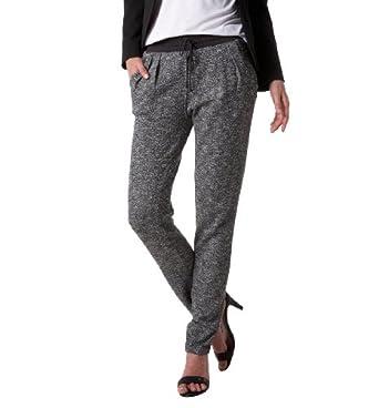 go tendance vetement pantalon femme jogging lurex gris car interior design. Black Bedroom Furniture Sets. Home Design Ideas