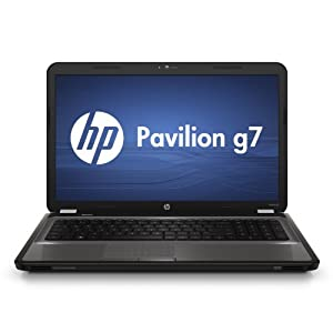 "HP g7 Laptop AMD Dual Core A4-3300M 2.5GHz, 6GB, 500GB, 17.3"" High Definition+ HP BrightView LED, Blu-Ray Drive, Webcam, Windows 7 Home Premium 64-bit"