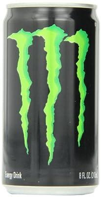 Monster Energy Mini Drink, 8 Ounce (Pack of 12)