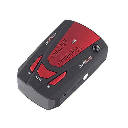 niceEshopTM-V7-LED-Affichage--360-Degrs-Dtecteur-de-Radar-Compteur-de-Vitesse-de-Voiture-de-GPS-Rouge