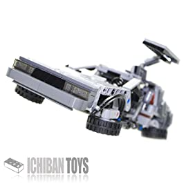 BTTF Time Machine V5 - Custom LEGO Element Kit