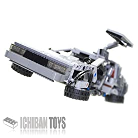 BTTF DeLorean DMC-12 V5.0 - Custom LEGO Element Kit