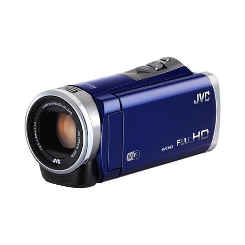 Jvc Gzex310Ausm 2.5 Megapixel 1080P Hd Wi-Fi Everio(R) Gzex310Bus Digital Video Camera (Blue)