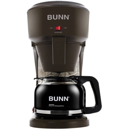 Bunn 10-Cup Speed Brew Outdoorsman Coffeemaker, Brown/Camo (Coffe Maker Bunn compare prices)