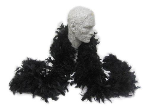 WeGlow International Feather Boa - Black (1 piece)