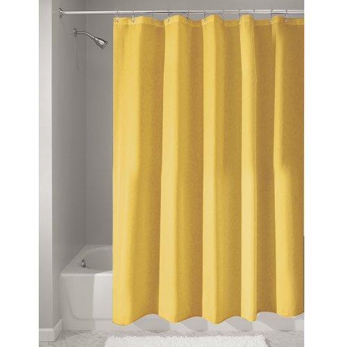 interdesign-mildew-free-water-repellent-fabric-shower-curtain-183-x-183-cm-yellow