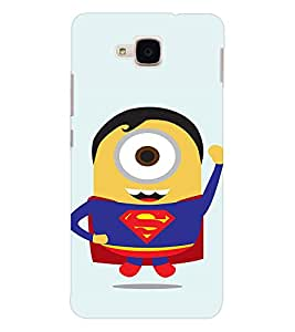 EPICCASE Superguy Minion Mobile Back Case Cover For Huawei Honor 5c (Designer Case)