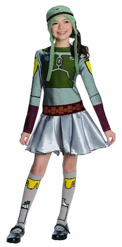 Star Wars Boba Fett Costume Dress, Medium