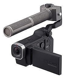 Zoom Q8 HD Video, 4‑Track Audio Recorder & SSH-6 Stereo Shotgun Microphone Capsule - Bundle