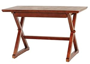"Brexley Writing Desk, 48""WX24""DX30""H, CHESTNUT"