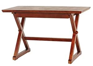 "Brexley Writing Desk, 48""WX24""DX30""H, CHESTNUT"