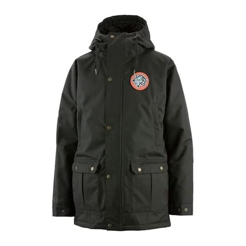 Airblaster Grumpy Jacket - Men's Black S [並行輸入品]