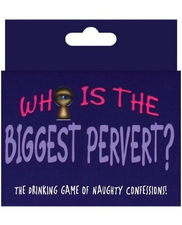 Who is the biggest pervert card game - 1