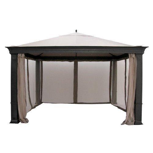 Backyard Gazebo Canopy :  Canopy for Tiverton (Series 3) Gazebo Rip Lock 500  Gazebos  Patio