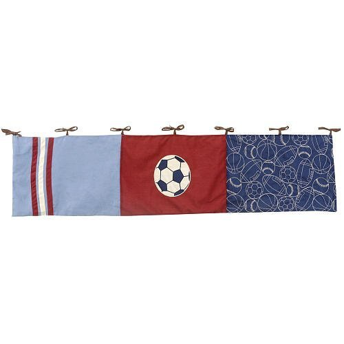 NoJo Play Ball Window Valance - 1