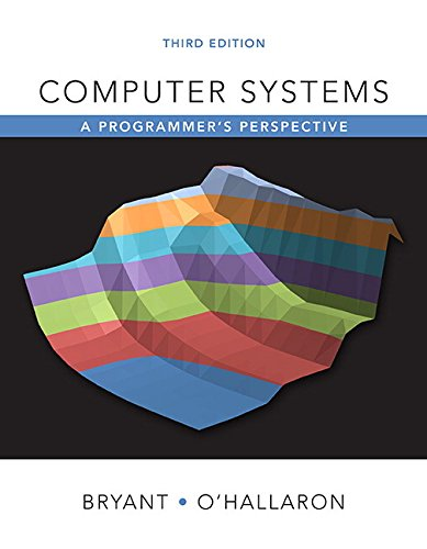 Computer Systems: A Programmer's Perspective (3