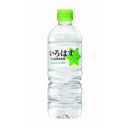 [2CS] コカ・コーラ い・ろ・は・す 天然水 (555ml×24本)×2箱