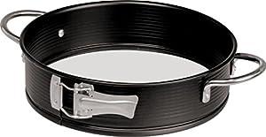 Zenker Handle-It Glass Bottom and Non-Stick Springform Pan, 9-Inch
