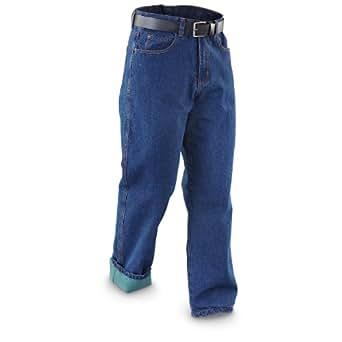 Smith's Fleece - lined Jeans Dark Wash, DARKWASH, W33 L30