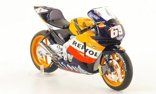 Honda RC211V, No.69, N.Hayden, MotoGP , 2004, Model Car, Ready-made, SpecialC.-11 1:24