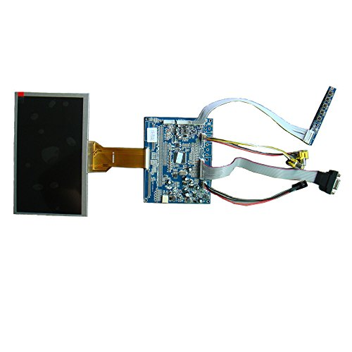 Generic 7'' Tft Industrial Lcd Monitor Module With Innolux At070Tn92, Driver Board Controller And Vga,Av Interface