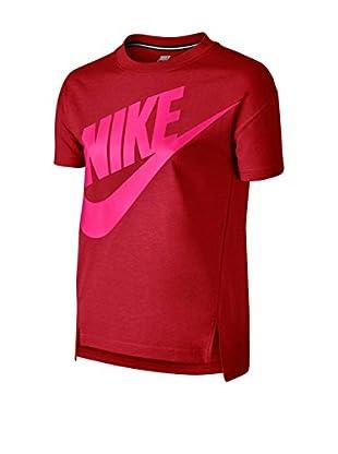 Nike Camiseta Manga Corta Signal Gfx Top Yth (Rojo / Rosa)