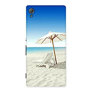 Stylish Vaccation Multicolor Back Case Cover for Xperia Z3 Plus