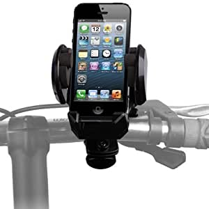 Shop4 Bicycle Handle Bar Holster / Holder / Cradle for Apple iPhone 3G, 3GS, 4, 4S, 5