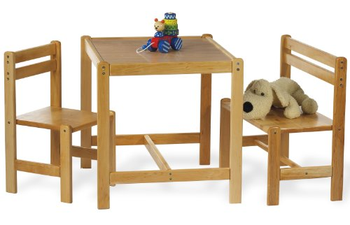 3-tlg-Kindersitzgruppe-Sven-Klar-lackiert