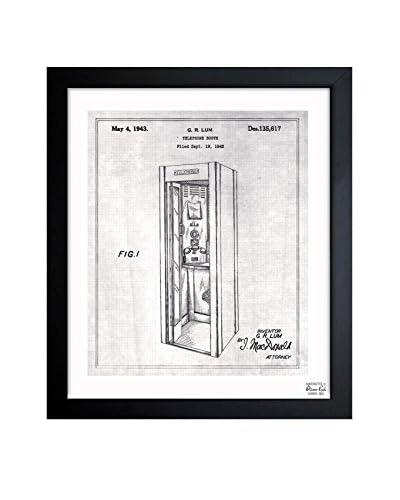Oliver Gal Telephone Booth 1943 Framed Art