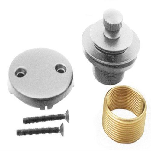Bfntdck1Sn Universal Twist & Close Tub Waste Trim Kit In Satin Nickel - Trim Kit-Yow