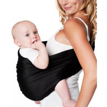 Learn More About Hotslings Adjustable Pouch Baby Sling, Regular, Black