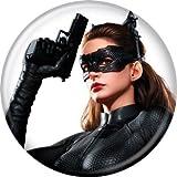Batman(バットマン) Dark Knight Rises(ダークナイト ライジング) Catwoman Gun 缶バッジ