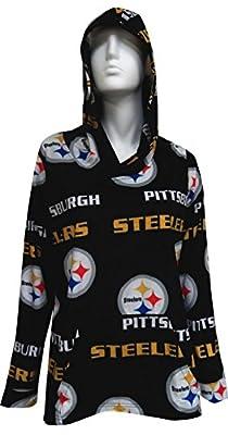 Pittsburgh Steelers Ladies Ultra Soft Fleece Pullover Hoodie for women