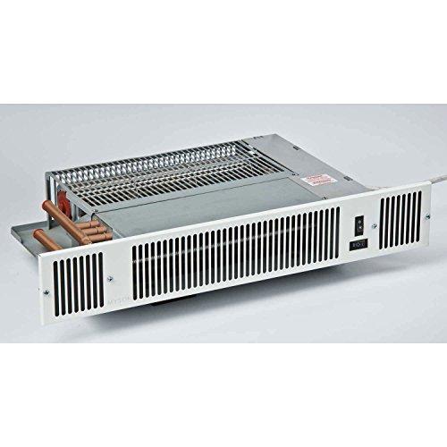 Myson Hydronic Kickspace Heater Black 7534 BTU 110V (Hydronic Kickspace Heater compare prices)