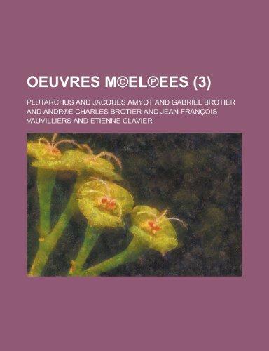 Oeuvres M El?ees (3)