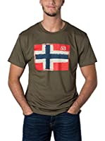Geographical Norway Camiseta Manga Corta Snht (Caqui)