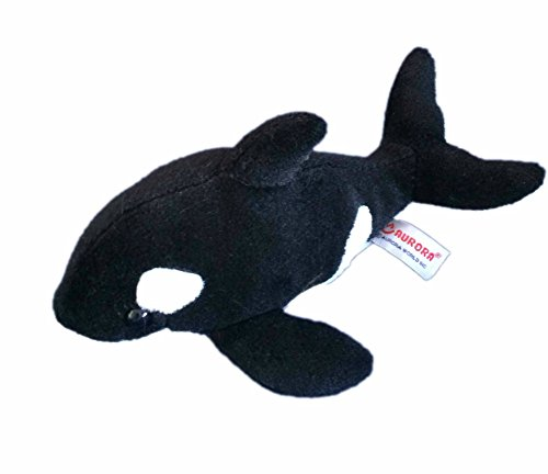 "Aurora World Orca Whale Plush 12"" - 1"